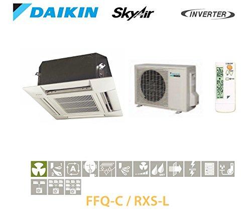 Daikin cassetta da incasso a 4vie di soffiaggio Inverter ffq50C