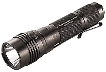 Streamlight 88065 Pro Tac HL-X 1,000 Lumen Professional Tactical Flashlight with High/Low/Strobe Dual Fuel  Includes 2x CR123A Batteries and Holster - 1000 Lumens
