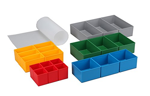 Allit 457370 Schubladen rot/gelb/blau/grün/grau EuroPlus Set 63/22