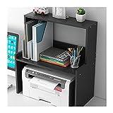 Soporte para Impresora Soporte de impresora de impresora de escritorio Soporte de impresora con almacenamiento 3 Tier STOP Table stftack escritorio con almacenamiento para la oficina de la oficina de