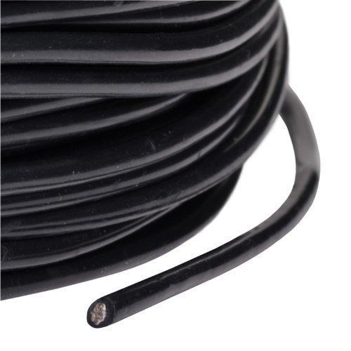 partCore Silikonkabel AWG 16 1.27 qmm hochflexibel Supersoft schwarz
