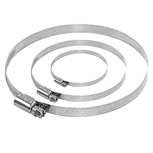 Spannbereich Bandschellen 300-320 mm Rohrschelle Schlauch -verbindungs -schelle (300-320 mm)