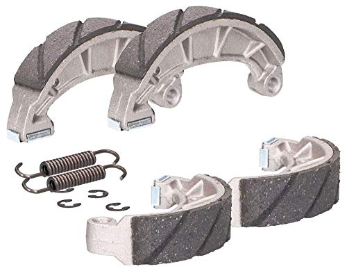 2EXTREME 2X Bremsbacken Sport Bremsen geschlitzt kompatibel für Simson S51 S50 KR51 Schwalbe Satz Paar