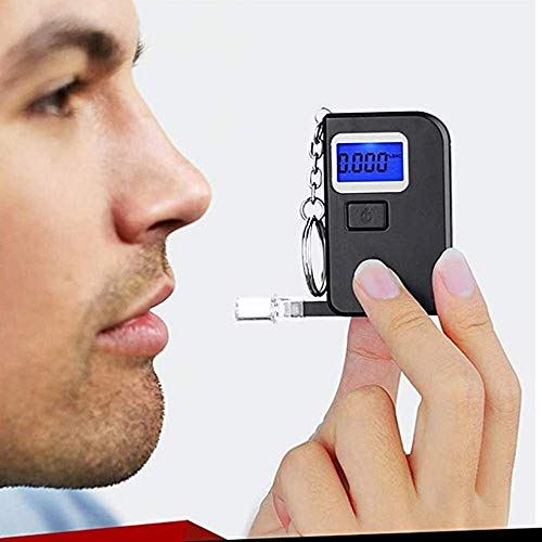 Great Features Of Breathalyzer, Professional Breath Alcohol Tester Portable Home Use Blowing Tester,...