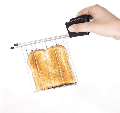 Cloer 760 Zangen Zweischlitz-Toaster / 2er Set
