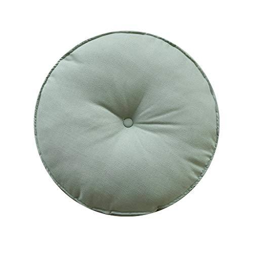 Cojines Para Sillas La imitación de algodón de lino Ronda Suelo amortiguador de la almohadilla del estilo japonés futón cojín de asiento for sillas de espesar onda de la ventana del cojín 60x60cm, 3 c
