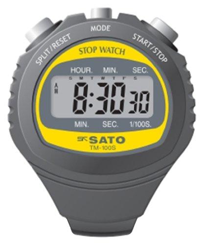 佐藤計量器(SATO) ストップウォッチ 防滴 デジタル TM-100S