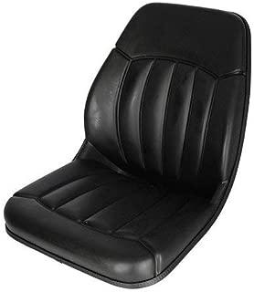 Bucket Seat Vinyl Black Case Bobcat Ford Mustang Gehl Daewoo New Holland Massey Ferguson Caterpillar JCB 430 555 420 580B 580 655 550 480 480C 590 455 580L 585 586 1845 580K 580C 1840 1845C 580Super L