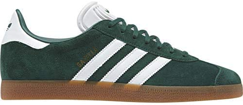 adidas Mens Gazelle Lace Up Sneakers Shoes Casual - Green