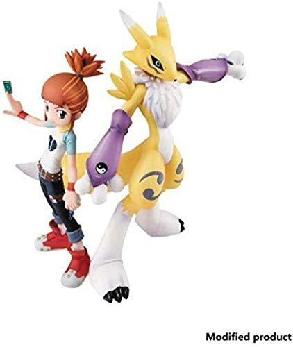 Digimon Tamers Renamon & Ruki PVC Figur - Hochdetaillierte Skulptur - Hoch 5 9 Zoll