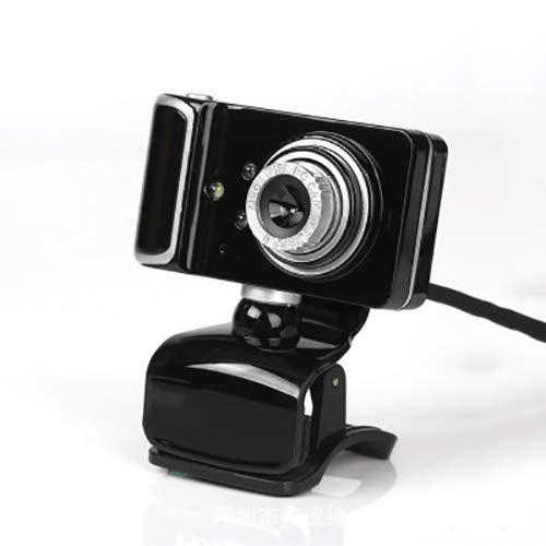 BMG Computer HD-camera, LED-licht Webcam ingebouwde geluidsabsorberende microfoon 9 Soorten speciale effecten kunnen handmatig worden aangepast voor Android TV