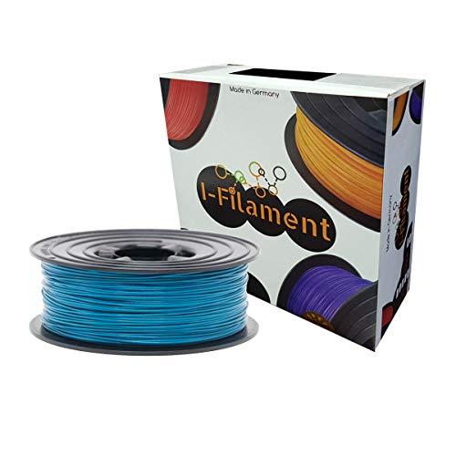 I-Filament 3D PLA Filament 1,75mm 1kg Vakuum Verpackt Spule (Türkis, PLA)