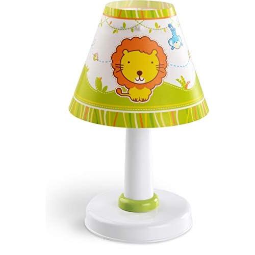 Dalber - Piccolo Zoo Lampada da tavolo 40 W, Multicolore, 270 x 160 x 160