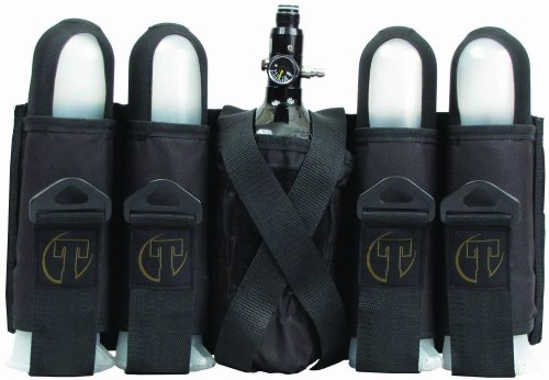 Tippmann 4+1 Paintball Battlepack Pod Sport Harness, schwarz