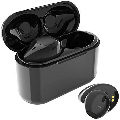 Auricolari Bluetooth, Willful Cuffie Bluetooth Senza Fili Cuffiette Wireless Musica HiFi Chiamate Assistente Vocale Volume Regolabile Due Dispositivi Auricolare TWS Universali
