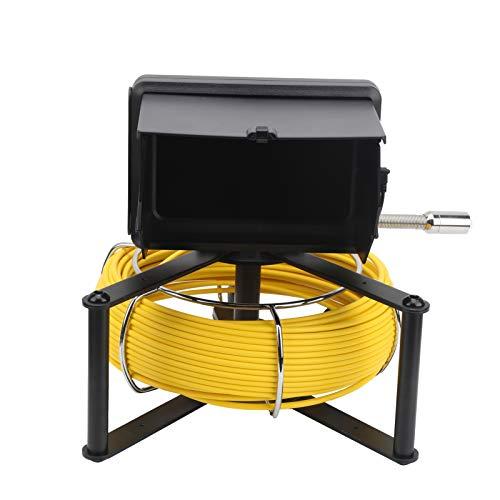 Cámara de inspección de tubería, cámara TVL Cámara de inspección de alcantarillado F9623‑30M para cámara de video de tubería