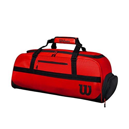 Wilson Tasche, Tour Duffle, Platz für 3 - 4 Schläger, rot/schwarz, WR8002702001