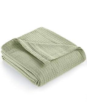 Lauren Ralph Lauren Estate Classic Cotton Full/Queen Blanket - Green