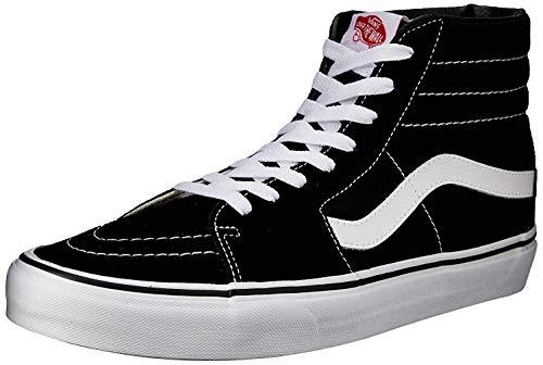 Vans Unisex-Erwachsene U SK8-HI High-Top Sneaker,Schwarz (Black), 39 EU