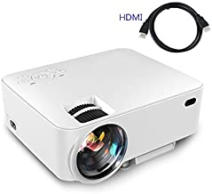 Video Projector,(Warranty Include)1500 Lumens Multimedia Portable Video Projector 170