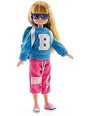 Lottie Cool 4 lalka szkolna | plecak dla lalek z okularami i lalkami | Sportowa modna lalka z różnicą | lalki dla dziewcząt i chłopców, LT151