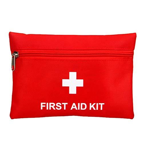 Katyma Leichte Erste-Hilfe-Tasche Tragbarer Notfall-Medizinkoffer Erste-Hilfe-Set für Wandern, Camping, Zuhause