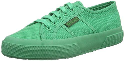 Superga Superga 2750 Cotu Classic Mono, Unisex-Erwachsene Sneaker, Grün (Total Intense green A03), 40 EU (6.5 UK)