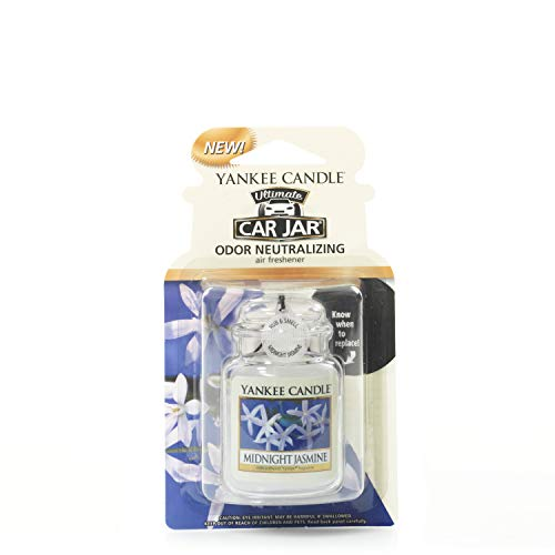 Yankee Candle 1220925E Deodoranti per Auto, Car Vaso Ultimate, Midnight Jasmine