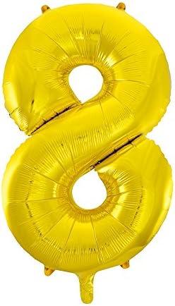 34 Foil Jumbo Number Balloon #0