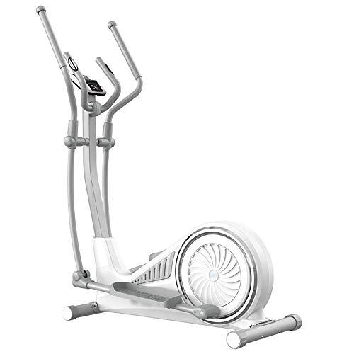 HHJJ Elliptical Machine,16 Levels Adjustable Resistors,Multifunction Magnetic Control Cross Trainer,Home Gym Fitness Equipment RunningMachine1121