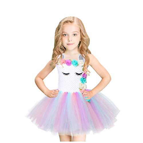 Kolylong Costume Carnaval Fille Deguisement Princesse Robe Robe de soirée Chic Multicolore 8