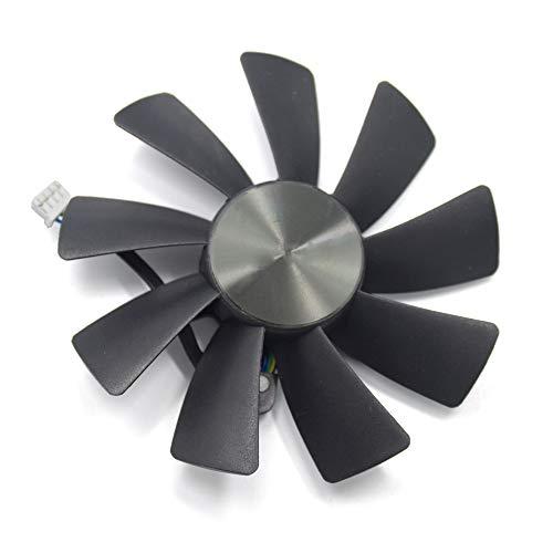 inRobert GA91S2H - Ventilador de tarjeta de vídeo para Zotac GTX 1070 Ti Mini, GTX 1080 Ti Mini tarjeta gráfica (ventilador A)
