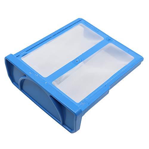 Marel Shop® - Filtro filacci a rete scarico per asciugatrice Gruppo Bosch 7,7 x 6,8 cm per modelli: WTW84360IT02 - WTW84107IT/19 - WTW84107IT06 - WTW84107IT16