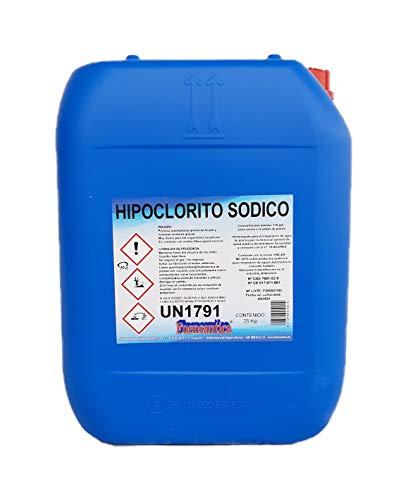Fuensantica Hipoclorito Sódico/Cloro Liquido 14% 12 Kg