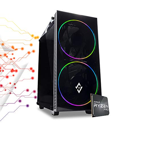 Pc gaming ryzen 5 PRO 4650G turbo 4.20ghz,Ram 8gb Ddr4 3200 mhz,Ssd M.2 256gb, Radeon,Wi Fi 300 mbps, pc desktop Gaming assemblato