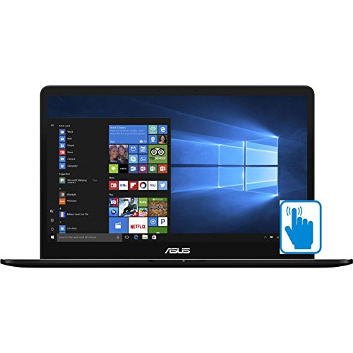 ASUS ZenBook Pro UX550VE-DB71T Premium 15.6 inch FHD Touch Laptop PC (Intel i7-7700HQ Quad Core, 16GB RAM, 1TB SSD, GTX...