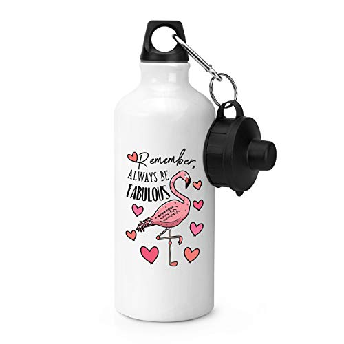 Gift Base Flamant Rose Remember Always Be Fabuleux Bouteille Sports