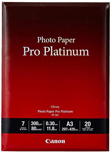 Papel Fotografico A3 Canon papel fotografico a3  Marca Canon