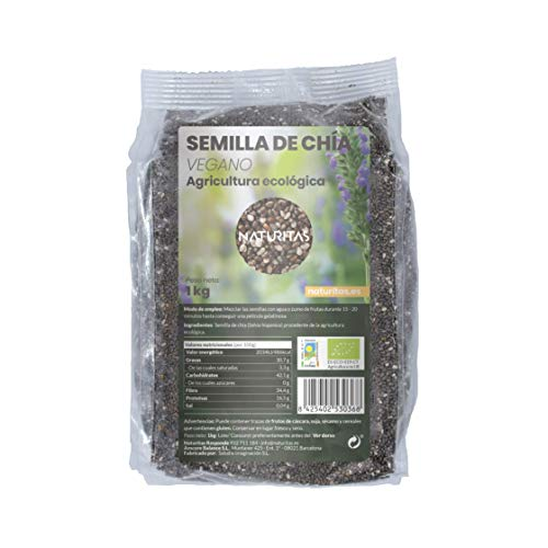 Semilla de Chia Bio 1Kg | Bio | Vegan