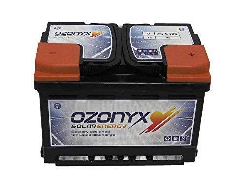 wccsolar.es Bateria Solar 85ah 12v Ozonyx bateria Solar de 12v
