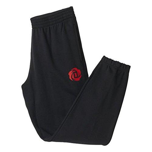 adidas D Rose Basic Pantalon, Homme, D Rose Basic Hose, Noir