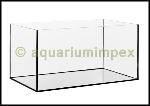 Aquarium Glasbecken 50x30x35 cm, 4 mm, rechteck, 52,5 Liter Becken