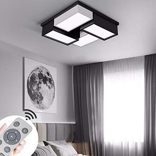 COOSNUG LED Deckenleuchte 72W Dimmbar Modern Deckenlampe Schlafzimmer Küche Flur Wohnzimmer Lampe 3000-6500K