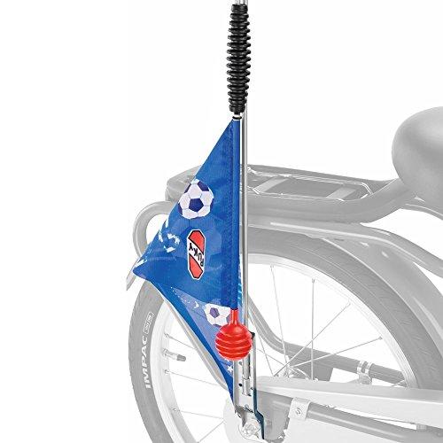 Puky 9324 SW 3 Sicherheitswimpel Z/R, Blau Fußball