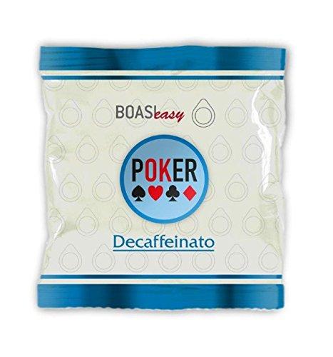 Caffè Boasi Espresso 'Poker' Decaffeinato ESE Pads / Espresso Pods / Cialde entkoffeiniert, 80 Stück