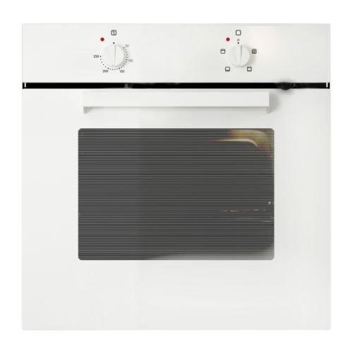 IKEA LAGAN OV3 Backofen in weiß; Energieeffizienzklasse A