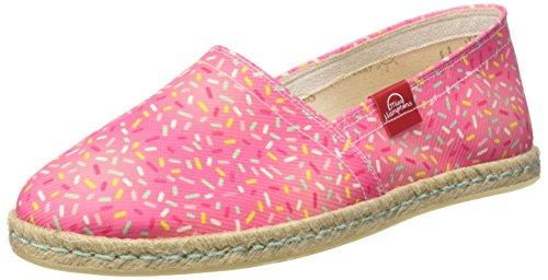 MISS HAMPTONS Pink Donut, Alpargatas para Mujer, Rosa, 37 EU