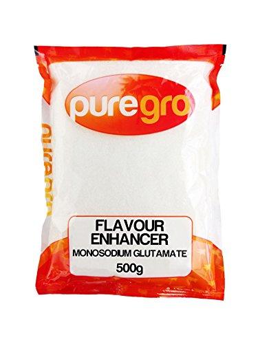 Puregro potenciador de sabor (glutamato monosódico) 500 g
