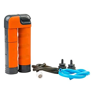 Renovo Water MUV Backcountry Pump Water Filter - Blocks Chemicals Heavy Metals Bacteria and more
