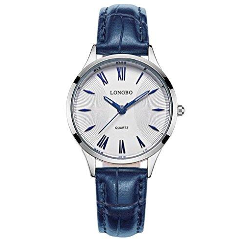 Longbo uomini d'affari semplice moda vigilanza delle coppie di quarzo impermeabile orologi 80252 , 6